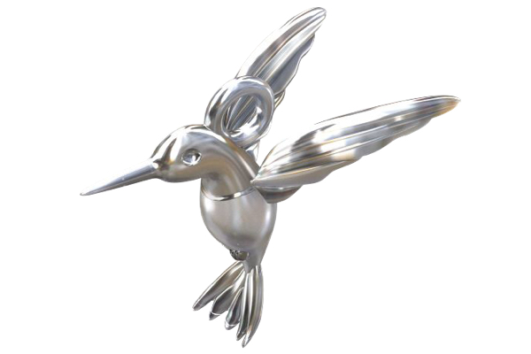 charms birdy argent